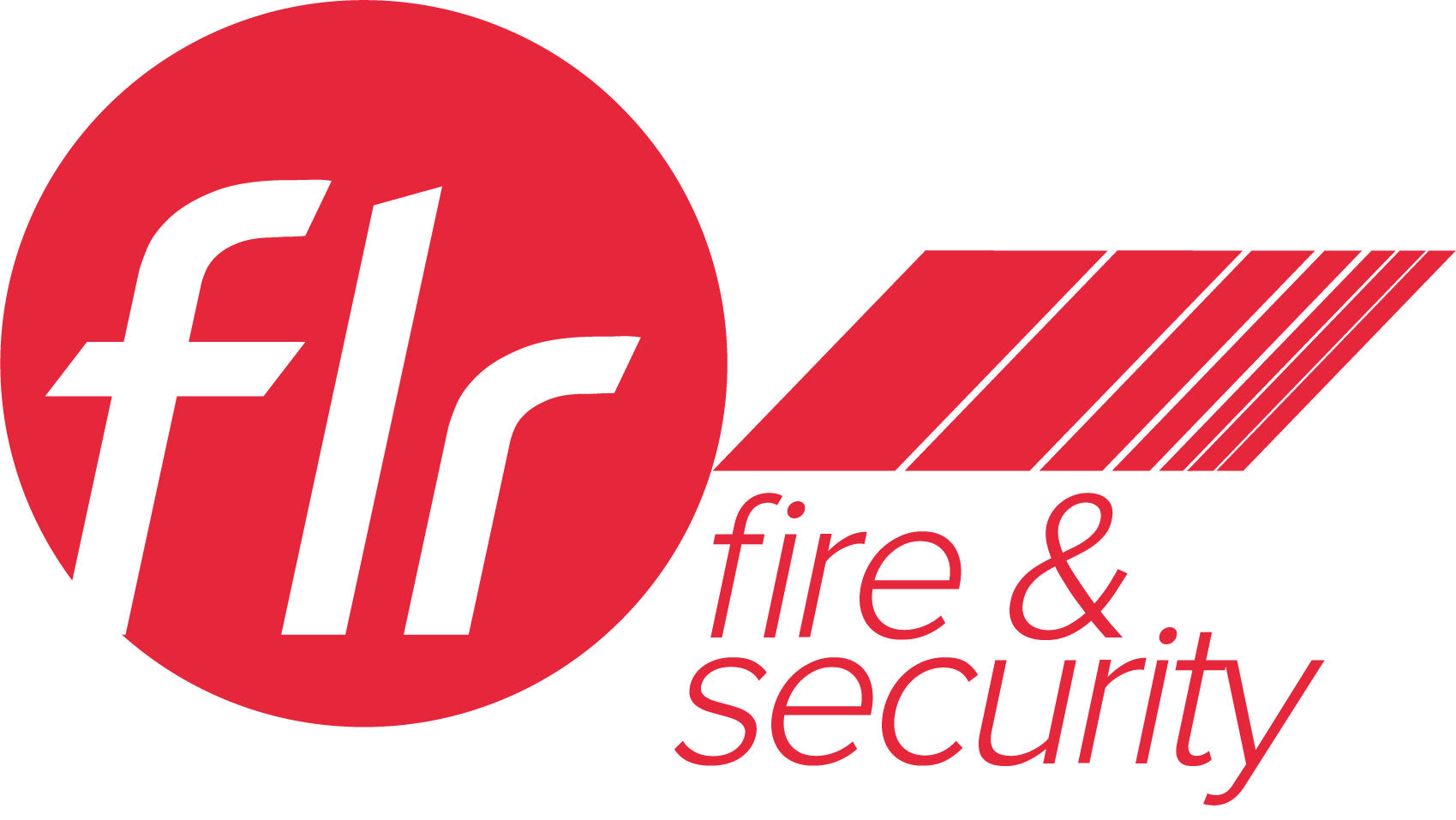 FLR fire and Security red