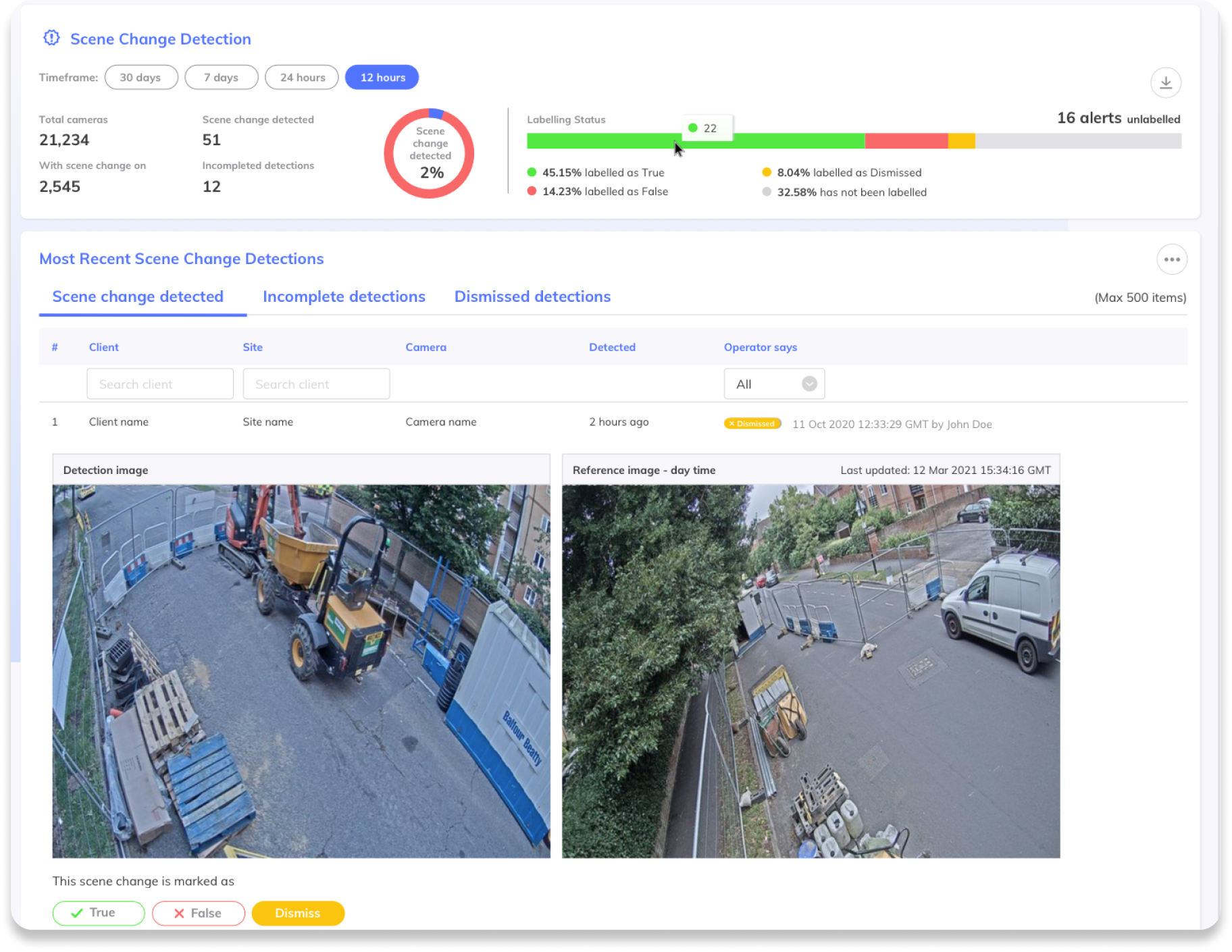 Calipsa Detect Pro - screenshot