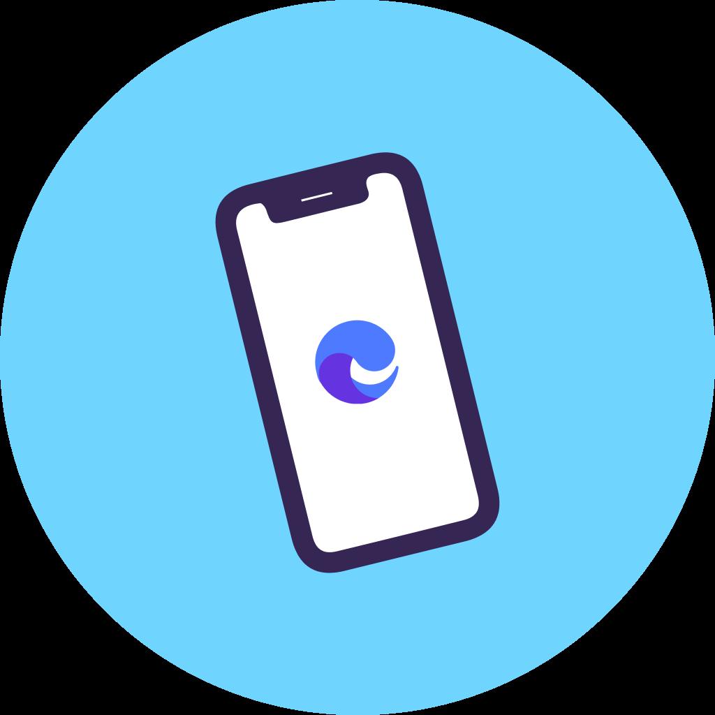Mobile app viewing
