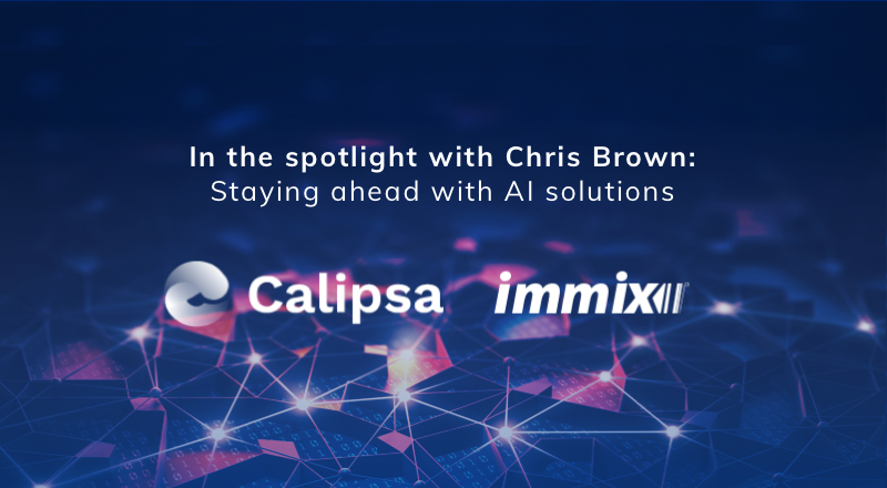 In the spotlight with Chris Brown: staying ahead with AI solutions